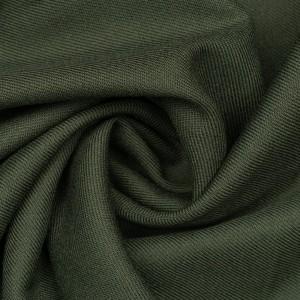 Костюмная ткань 265 г/м2, цвет зеленый (9723)