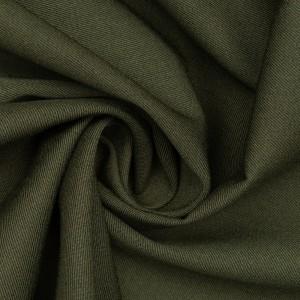 Костюмная ткань 295 г/м2, цвет зеленый (9718)