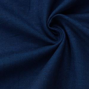 Лен 9767 цвет синий
