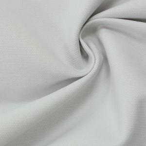 Хлопок костюмный 340 г/м2, цвет белый (9755)