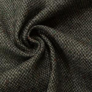 Шерсть пальтовая 260 г/м2, цвет серый (9802)