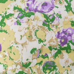 Хлопок с принтом 200 г/м2, узор цветочный (9788)