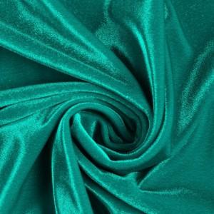 Бархат Panama NABUCCO 220 г/м2, цвет бирюзовый (9521)