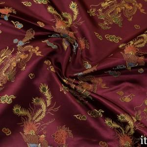 Китайский Шелк 8207 цвет бордовый