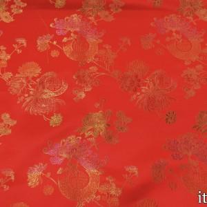Китайский Шелк 8206 цвет красный