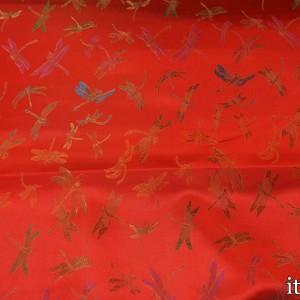 Китайский Шелк, цвет красный (8193)