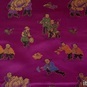 Китайский Шелк 8191 цвет фиолетовый