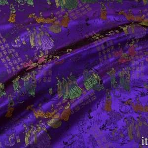 Китайский Шелк 8182 цвет фиолетовый