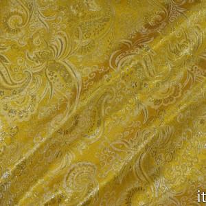 Парча, цвет желтый (8168)