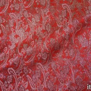 Парча 8161 цвет красный