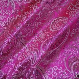 Парча цвет розовый