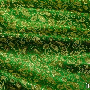 Парча, цвет зеленый (8158)