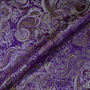 Парча 8157 цвет фиолетовый
