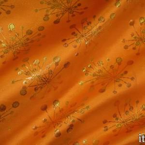 Парча, цвет оранжевый (8155)