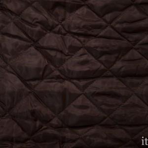 Подкладочная стеганая ткань 230 г/м2, цвет коричневый (8792)