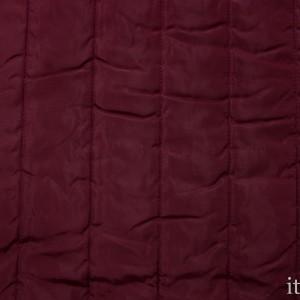 Стеганая ткань 320 г/м2, цвет бордовый (8796)
