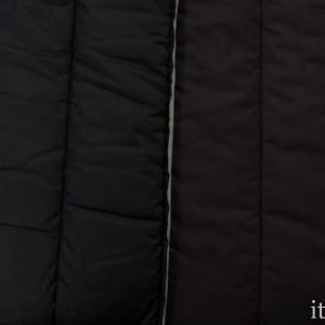 Стеганая курточная ткань 370 г/м2, цвет коричневый (8800)