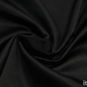Сатин Костюмный Хлопок 170 г/м2, цвет черный (8356)