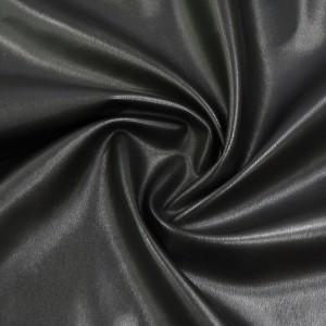 Искусственная кожа 310 г/м2, цвет черный (9037)