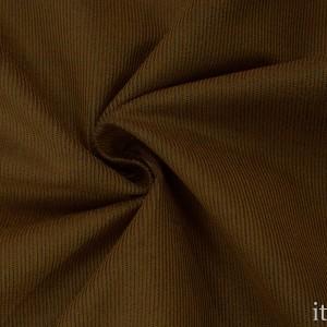 Костюмная ткань в рубчик 8671 цвет горчичный