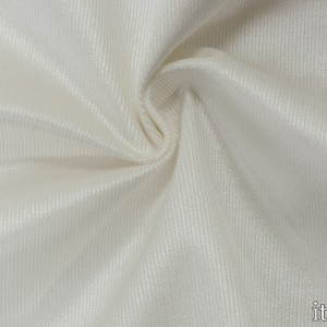 Костюмная ткань в рубчик 8673 цвет белый