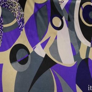 Ткань Атлас Принт 5602