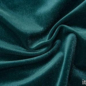 Ткань Бархат-Стрейч, цвет бирюзовый (7168)