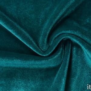 Ткань Бархат-Стрейч, цвет бирюзовый (7203)