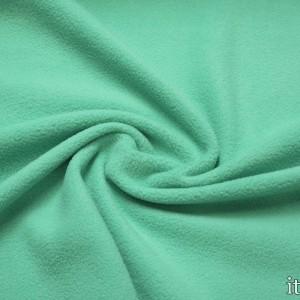 Ткань Флис, цвет зеленый (5637)