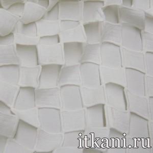 Ткань Кружево, цвет белый (3220)