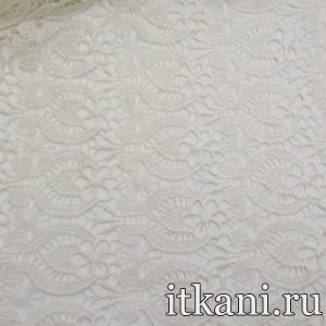 Ткань Кружево, цвет белый (3221)