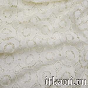 Ткань Кружево, цвет молочный (3225)
