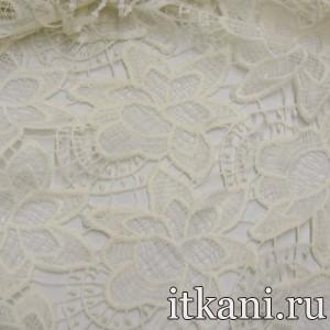 Ткань Кружево, цвет молочный (3230)