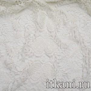 Ткань Кружево, цвет белый (3231)