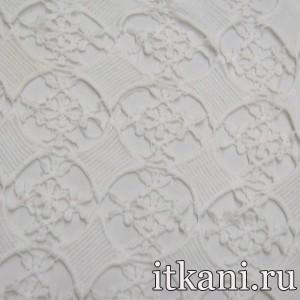 Ткань Кружево, цвет белый (3232)