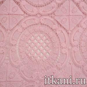 Ткань Кружево, цвет розовый (3260)