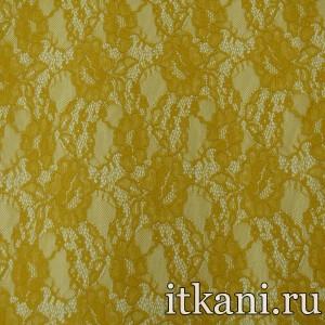 Гипюр стрейч 4976 цвет желтый