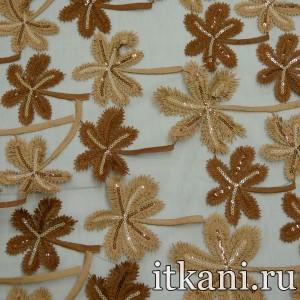 Ткань Сетка Фатин с пайетками