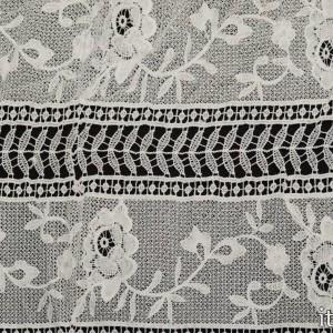 Ткань Гипюр Кружево 5712 цвет белый