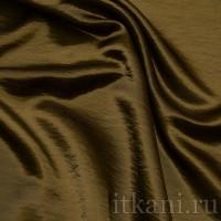 """Ткань Рубашечная Атлас коричневого цвета """"Шейла"""""""
