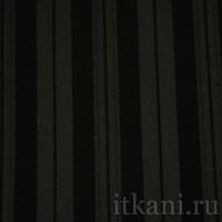 """Ткань Костюмная черная в полоску """"Уэнди"""""""