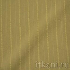 """Ткань Костюмная песочного цвета """"Кларк"""", узор полоска (1173)"""