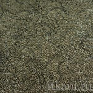 Ткань Твид, узор цветочный (1290)