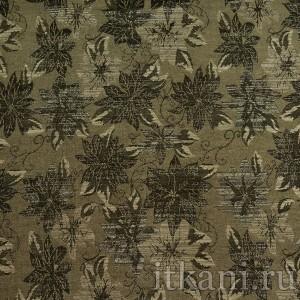 Ткань Жаккард, узор цветочный (1337)