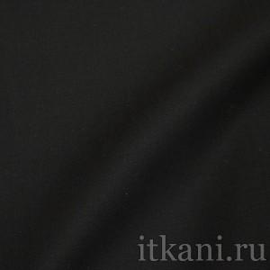 Ткань Костюмная, цвет черный (1419)