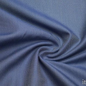 Ткань Вискоза Костюмная, цвет голубой (6119)
