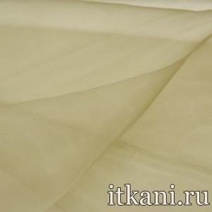 Ткань Органза, цвет бежевый (3429)