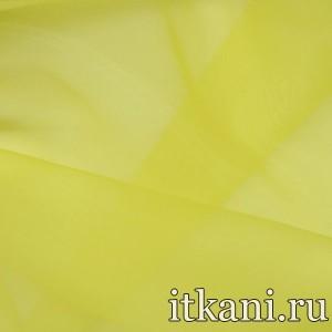 Ткань Органза, цвет желтый (3443)