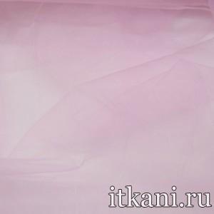 Ткань Органза, цвет розовый (3445)