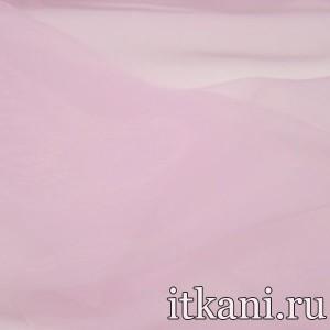 Ткань Органза, цвет розовый (3447)